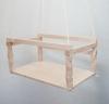 Качели деревянные для деревянных ДСК
